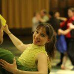 Maria Zdanovskaia dancing