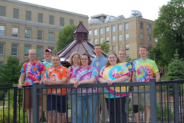 McMahon Group May 2009 all in tie-dye